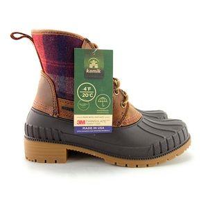 Kamik Women's Sienna Mid Waterproof Ankle Boots